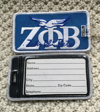 Zeta Signature Luggage Tag