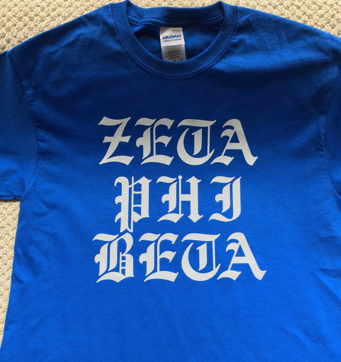 Zeta Old English T-Shirt