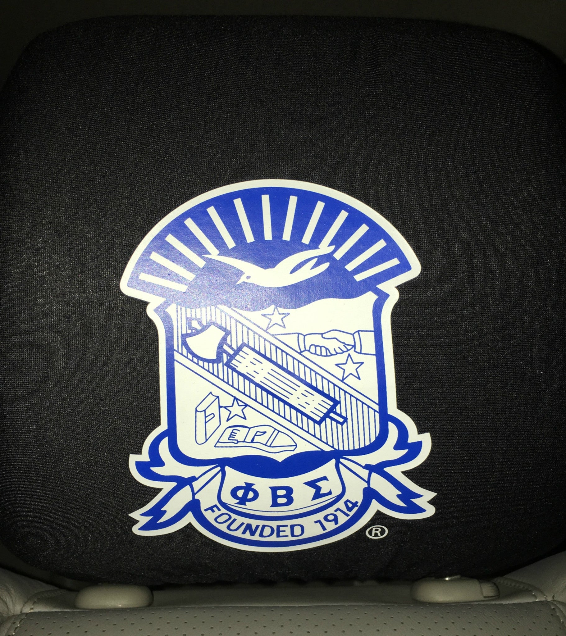 Phi beta sigma j mar greek life phi beta sigma car seat headrest cover biocorpaavc Images