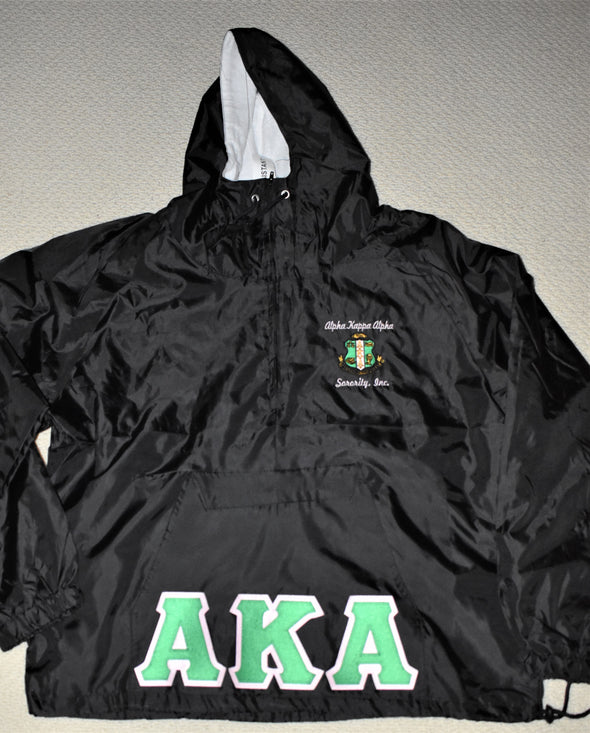 AKA Hooded Pullover Jacket