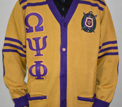Omega Old School Cardigan