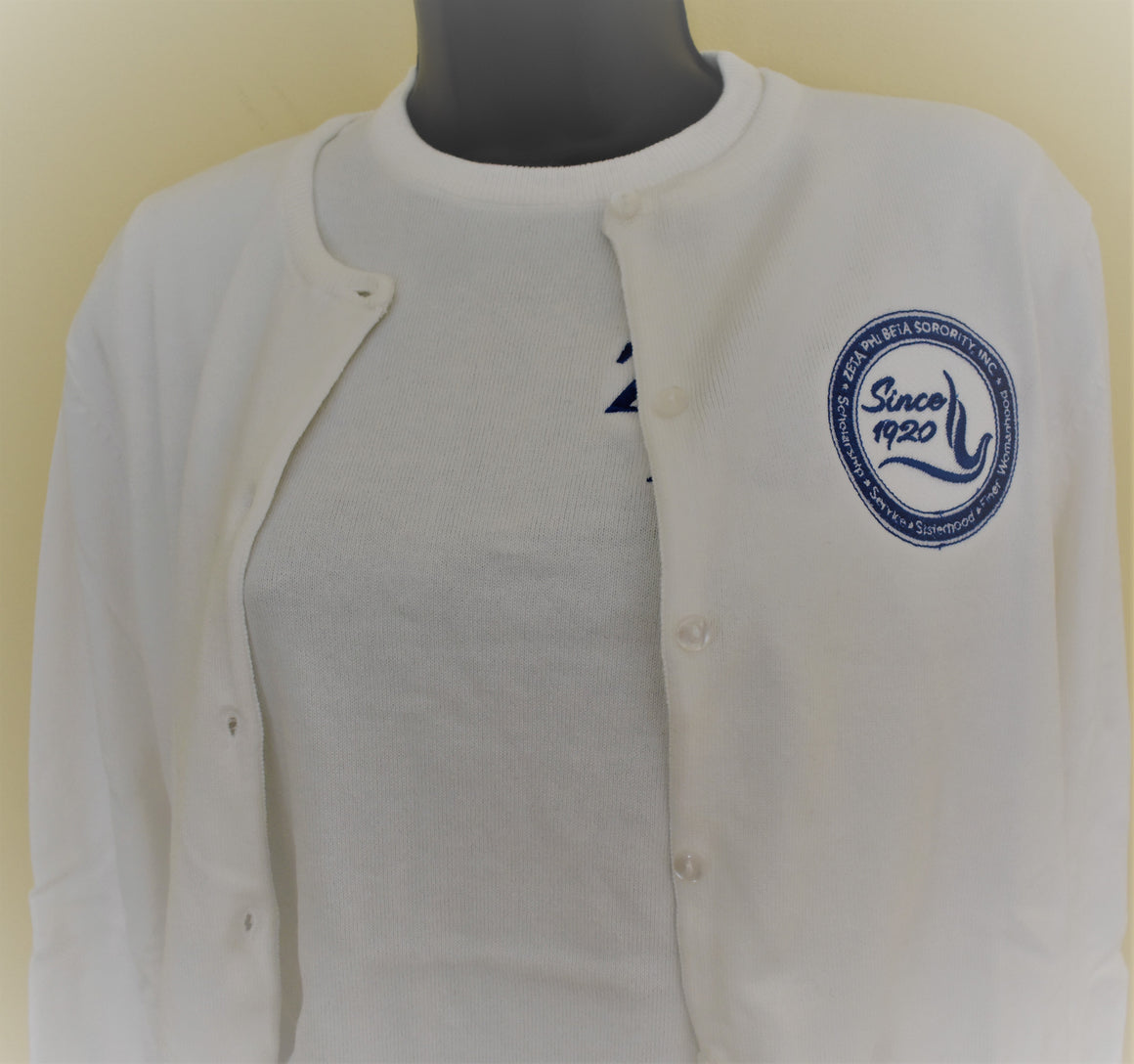 Zeta Phi Beta Twin Sweater Set