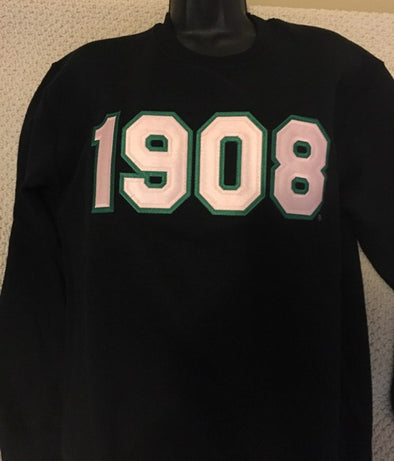 AKA 1908 Crew Neck Sweatshirt