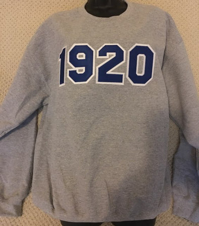 Zeta 1920 Crew Neck Sweatshirt