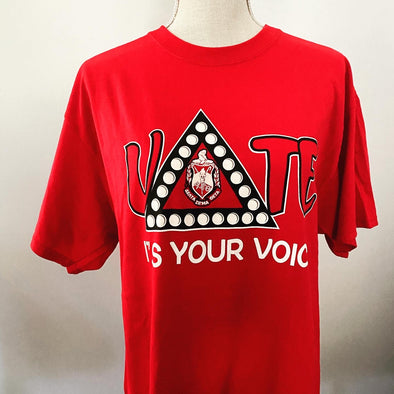 DST Vote T-shirt (Red)