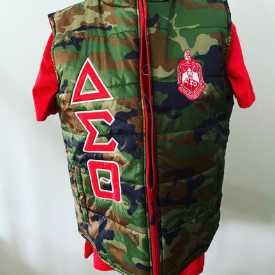 DST Camouflage Vest