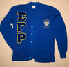 SGR Cardigan w/ Chenille Letters