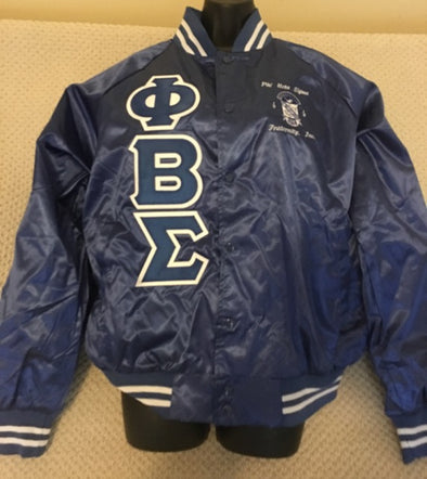 Phi Beta Sigma Satin Jacket