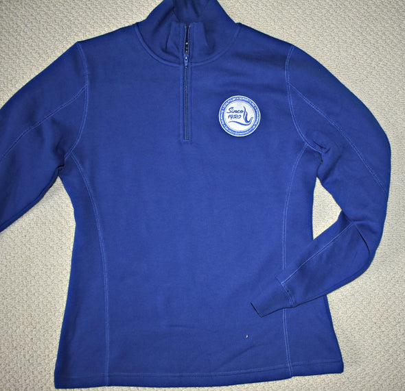 Zeta  1/4 zip-up Sweatshirt