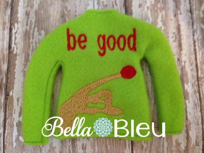 In The Hoop Elf Sweater Embroidery