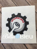 Applique Father's Day Mechanic Wrench Applique Embroidery Design
