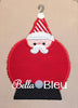 Christmas Santa Claus Ornament Machine Applique Design