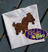 Barn Farm yard Billy Goat Machine Applique Embroidery Design