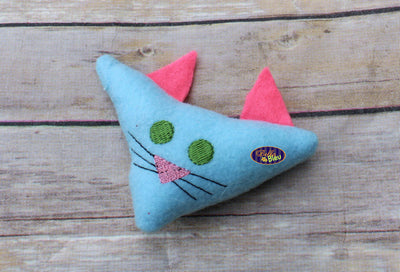 In the Hoop Kitty Cat Nip Toy ITH