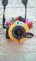ITH in the hoop Applique Camera Lenses Buddy Photography machine embroidery