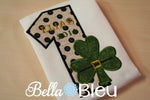 1st First Saint Patricks St Patty's Day Embroidery Applique Machine Design