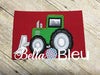 Dozer Tractor Construction Vehicle Machine Applique Embroidery Design