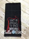 Don't be afraid to take whisks funny Kitchen machine embroidery design