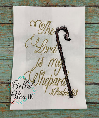 Christmas Lord is My Shepard Psalm 2:3  Scribble