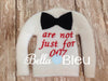 ITH In The Hoop Elf Inspired James Bond 007 Bowtie Sweater Shirt, Christmas Design