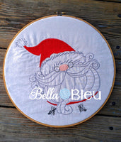 Adorable Quick Stitch Santa Claus Machine Embroidery design