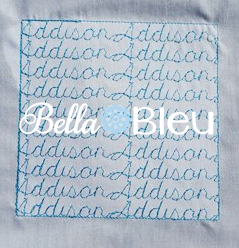 Stipple Name Addison Quilting Stitch Machine Embroidery Design