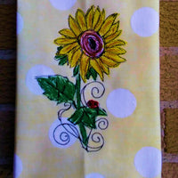Sunflower Scribble 8