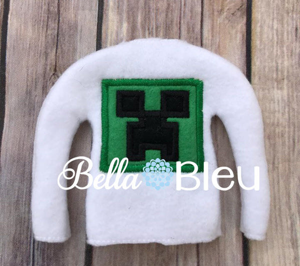 ITH Inspired Creeper Elf Sweater Shirt Machine Embroidery Design