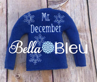 In The Hoop Elf Sweater Embroidery Bella Bleu Embroidery