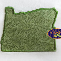 State of Oregon Machine Applique Embroidery Design