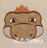 Dinosaurs Machine Applique Embroidery Design dino