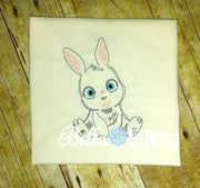Baby Bunny Boy Colorwork Machine Embroidery Design Farm Animals