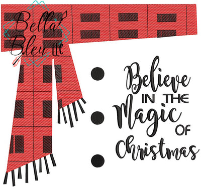 Sketchy Believe in the Magic of Christmas