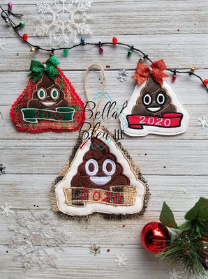 ITH 2020 Poop Christmas Ornament
