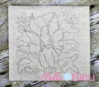 Fairy Fairies Quick bean stitch redwork quilting machine embroidery design