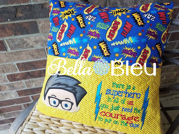 Reading bella bleu embroidery