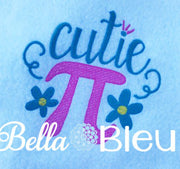 Back to School Cutie Pi Machine Sketchy embroidery design