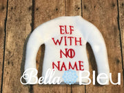 Elf with No Name Inspired Game of Thrones sweater shirt in the hoop machine embroidery design