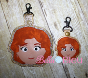 ITH Inspired Golden Girls Blanche Key fob Luggage Tag