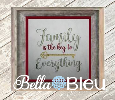 Family is Everything Key Design