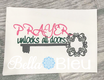 Prayer Unlocks all doors religious key saying