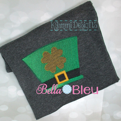 Leprechaun Hat Machine Embroidery fill design color blend