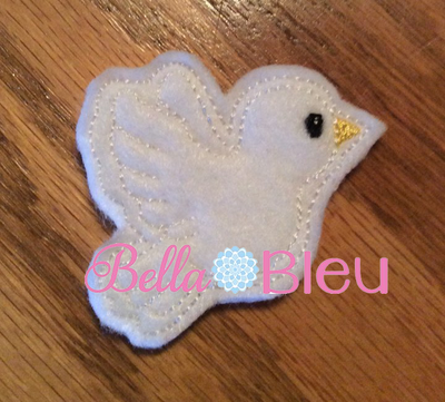 Dove Feltie Machine Embroidery Design SL