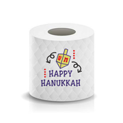 Happy Hanukkah Dreidel Toilet Paper  Machine Embroidery Design sketchy
