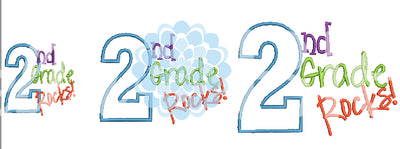 2nd Second Grade Rocks