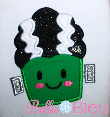 Bride of Frankenstein Frankie Frank 8x8 Machine Applique Design