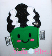 Bride of Frankenstein Frankie Frank machine applique design 6x6