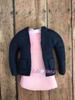 ITH Elf Inspired Stranger Things Pink Smocked Dress and Jacket Set
