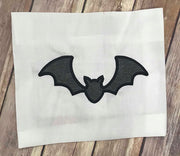 Bat Applique Embroidery Design Halloween