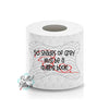 50 Shades of Grey Quilting Toilet Paper Funny Saying